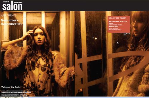 Salon Magazine December 2006 Issue