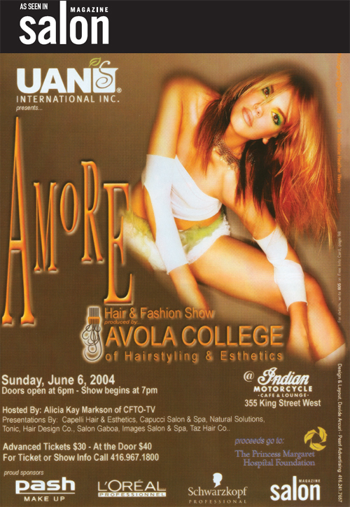 Salon Magazine May 2004 Issue