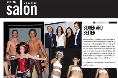 Salon Magazine September 2006 Issue